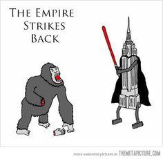 The Empire Strikes Back…