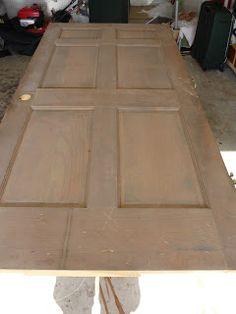 How Do You Do, Vicki Sue?: How do you...make a door look old?