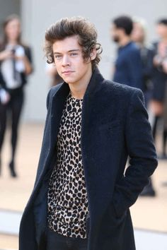 Harry Styles went to London Fashion Week. | 19 Things Celebrities Did This Week