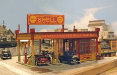 Shell Station - Railroad Line Forums