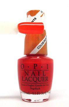 Opi a vendre Vernis OPI chromatic orange Collection color paints 2015 Color Paints, Paint Colors, Opi Colors, Orange Makeup, Nail Polish Art, Opi Nails, Nail Artist, Cute Nails, Pedicure