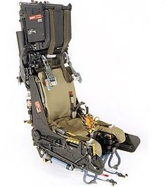 Martin-Baker ejection seat :: via BlackNotBlack..