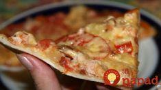 Keby som vedela, že do cesta treba pridať túto prísadu, robila by som to dávno: Takú pizzu vám nespravia ani v reštaurácii! Hawaiian Pizza, Superfoods, Lasagna, Italian Recipes, Margarita, French Toast, Food And Drink, Pie, Quiche