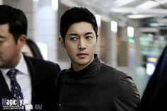 Kim Hyun Joong 김현중 Leaving Incheon Airport for Brazil by SHANE of MAGIC0606