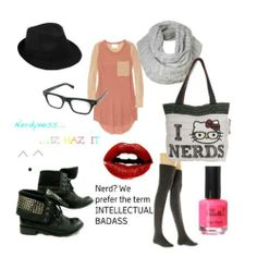cute nerd outfits for nerd day | cute nerd - Avenue7 - Express your fashion