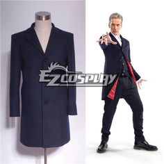 Who Is Doctor Twelveth 12th Dr. Navy Blue Frock Coat #Everyone Can Cosplay! Cosplay costumes #Anime Cosplay Accessories #Cosplay Wigs #Anime Cosplay masks #Anime Cosplay makeup #Sexy costumes #Cosplay Costumes for Sale #Cosplay Costume Stores #Naruto Cosplay Costume #Final Fantasy Cosplay #buy cosplay #video game costumes #naruto costumes #halloween costumes #bleach costumes #anime
