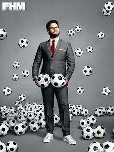 what if we shoot soccer coach kind of like this? with soccer balls fallling and in piles on the ground? obviously not holding them in front of his crotch...