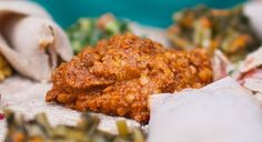 misir wot - ethiopian split red lentils in a berbere sauce. spicy and awesome #vegan
