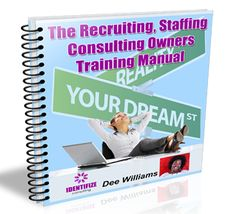 Looking for support starting up your new recruitment and staffing firm? Use a guide and get Results! The Startup Recruiting, Staffing, Consulting Owners Training Manual Startup, Everything, Manual, How To Become, Reading, Business, Training, Ideas, Textbook