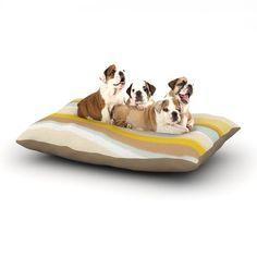 "Nika Martinez ""Desert Waves"" Dog Bed"