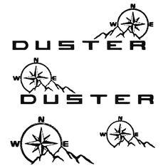 Sticker Dacia Duster Adventure Ref 53 4x4 Racing Tuning Rally Sticker Sport