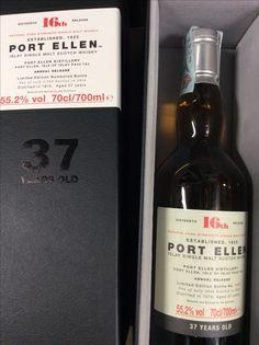 Whisky Port Ellen 36 release limited edition #tabaccheriatoto13 #whiskybar #whiskycollection #whiskylove #whiskygram #limitededition #luxury #luxurylife #luxirylifestyle #portellen #portellendistillery #cigaraficionado #cigarenthusiast #cigarporn
