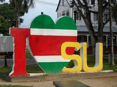 Just a few more days and i'm in Paramaribo, Suriname...super excited to see my family... I love SU