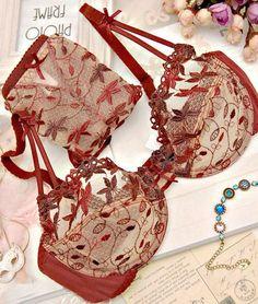 Encontre mais Conjuntos de Sutiãs Informações sobre Vinho sexy lace bordado transparente calcinha conjunto de sutiã das mulheres lingerie de lingerie sutiã, de alta qualidade roupa menino, beleza cueca China Fornecedores, Barato bodysuit lingerie a partir de Kate De's store em Aliexpress.com - cotton lingerie, classy womens lingerie, cheap intimates online *ad
