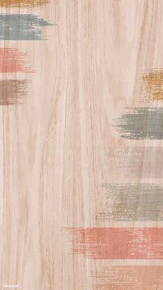 Pastel acrylic brush stroke on a wooden background vector Backgrounds Tumblr Pastel, Pastel Background Wallpapers, Pastel Color Background, Flower Background Wallpaper, Cute Wallpapers, Wooden Background, Pastel Color Wallpaper, Colorful Backgrounds, Background Vintage