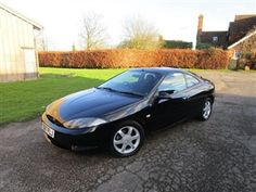 Used 1999 Ford Cougar 2.5 3dr EVERY MOT FROM NEW in Black for sale in Goudhurst for £999