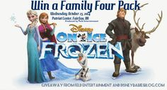 Disney Babies Blog: Frozen on Ice - Fairfax, VA Ticket Giveaway!