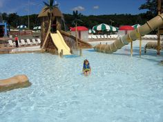 Relax in the water at our Pocono Mountains water park! It's the biggest water park in Pennsylvania! #ThisIsMyBeach