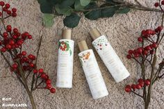 Kivvin Berry Clean hoitolinjan kasvojen puhdistustuotteet* sopivat kaikille ihotyypeille.