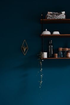 Let's make blue - trend watch: blue as wall color - . Let's make blue – trend watch: blue as wall color – paint – roomWall Lass uns Blau machen – Trendwatch: Blau als Wandfarbe – 0 Source by