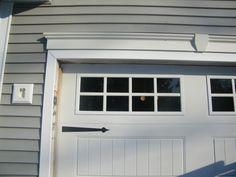 Garage Door Window Trim Kit - One functional part within your house is the garage. Some favor an older style tilt up garage Rustic Doors, Door Molding, Exterior Doors, Garage Door Trim, Exterior Door Trim, Garage Doors, Garage Door Design, Door Trims, Garage Door Types