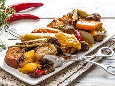 מתכון לאנטיפסטי מהיר. תוספת ירק בריאה וטעימה, שמרגישה כמו המון אוכל ועולה רק 80 קלוריות למנה יפה. אנחנו הכי קנינו