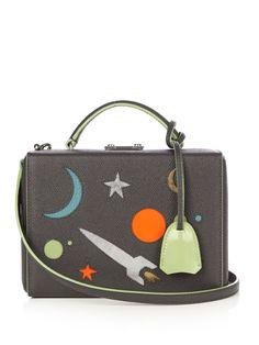 Grace small galaxy-panel leather box bag | Mark Cross | MATCHESFASHION.COM