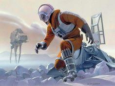 Star Wars Episode V, The Empire Strikes Back | Ralph McQuarrie.
