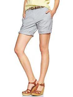 Boyfriend roll-up shorts | Gap