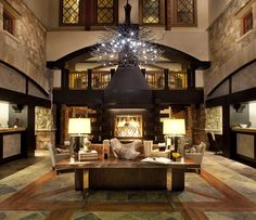 Best Resorts in the Continental U.: Sebastian Vail—A Timbers Resort, Vail, Colorado Best Resorts, Best Hotels, Top Hotels, Luxury Hotels, Tuscan Living Rooms, Living Spaces, Winter Lodge, Cozy Winter, Interior Design