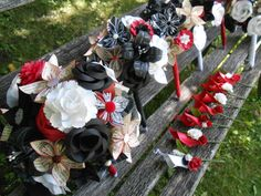 Hey, I found this really awesome Etsy listing at https://www.etsy.com/listing/100637426/custom-wedding-paper-flowe-bouquets-you