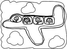 Basic Airplane Coloring Page See the category to find more printable coloring sheets. Also, you could use the search box to find what you want. Teddy Bear Coloring Pages, Minnie Mouse Coloring Pages, Dinosaur Coloring Pages, Dragon Coloring Page, Animal Coloring Pages, Coloring Pages For Kids, Airplane Coloring Pages, American Dragon, All Dinosaurs