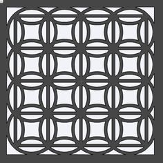 Circle Quilt Stencil 12x12 by HouseofDavis on Etsy