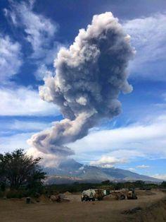 Volcán de Colima Sábado 3 de Enero del 2015  8:50am
