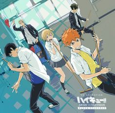 Haikyuu!! Karasuno Koukou vs Shiratorizawa Academy ost cover Sc : @animehaikyu_com on Twitter