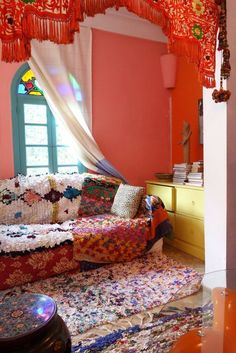 House Tour: A Colorful, Textured, Vibrant Moroccan Home | Apartment Therapy