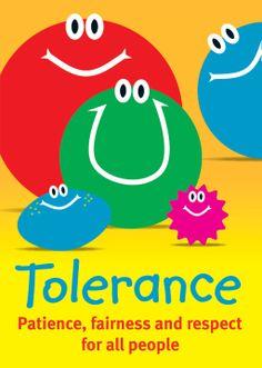 Lindsey Marie Balsdon   Tolerance Poster Series   Valores Colegio ...