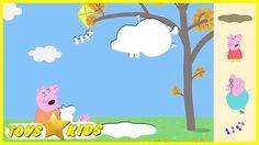 Peppa Pig Shadows Video - Peppa Pig Flying a Kite - Peppa Pig Videos for...
