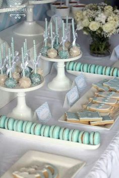 Trendy Ideas For Baby Shower Desserts Table Elephant Idee Baby Shower, Fiesta Baby Shower, Baby Shower Cakes For Boys, Baby Boy Cakes, Baby Shower Desserts, Baby Shower Table, Baby Shower Parties, Baby Boy Shower, Shower Party