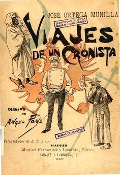 Viajes de un cronista / por José Ortega Munilla ; dibujos de Ángel Pons