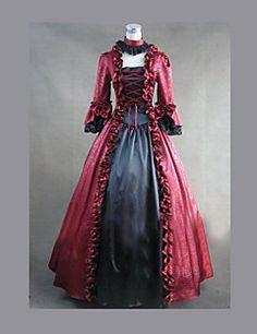 Gothic Lolita Kleid belle Kleid Vintage gotische viktorianischen Kleid Cosplay Kostüme