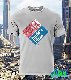 $179.00 Playera o Camiseta Star Wars R2 D2 Pizzeria - Jinx