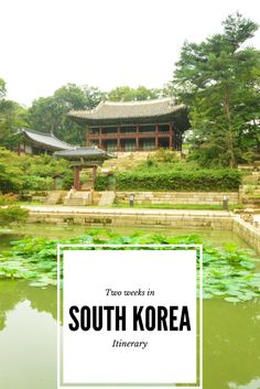 Two weeks in South Korea - an itinerary with a top line on where to go and where to sleep