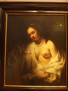 Willem Drost was one of Rembrandt's students whose work continues to be attributed to Rembrandt. No harm. Neither of them would probably object.