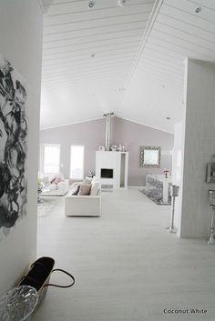Coconut White - White hallway