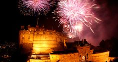 Fireworks at Edinburgh Castle