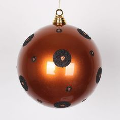 Polka Dot Candy Ball Ornament