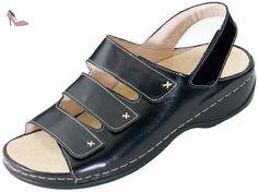 Berkemann Melbourne Lena 01009, Chaussures femme - Noir, 38 EU