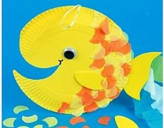 Make a Fish Paper Plate Craft