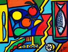Cibo ed arte in un'i